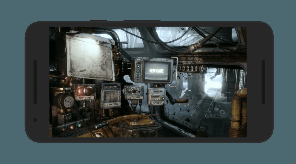Metro Exodus Android Game Screen