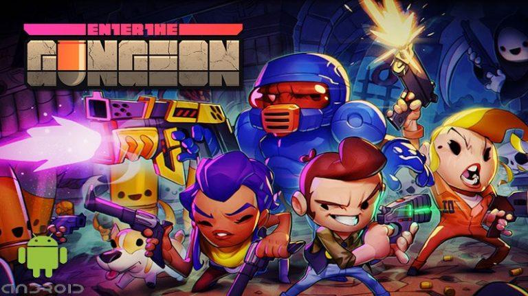 Enter the Gungeon Android Banner