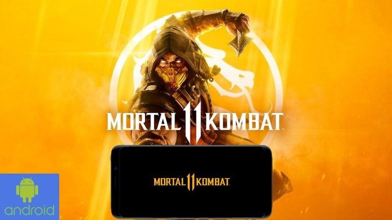 Mortal Kombat 11 Android Cover