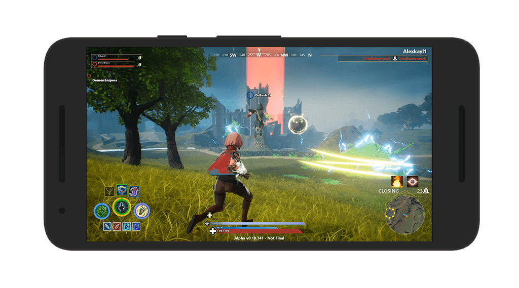 Spellbreak Android Gameplay