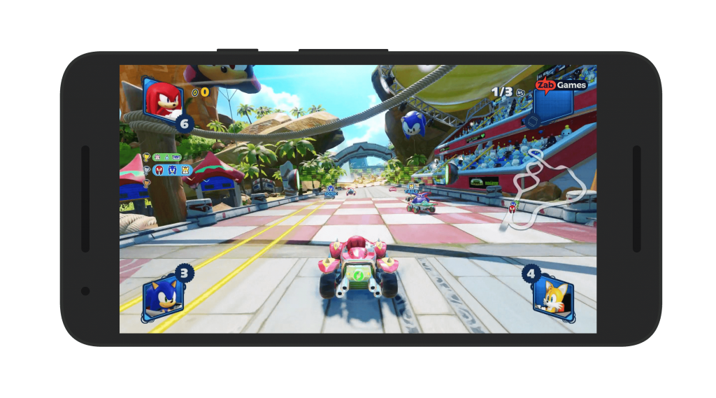 Team Sonic Racing Android Gameplay
