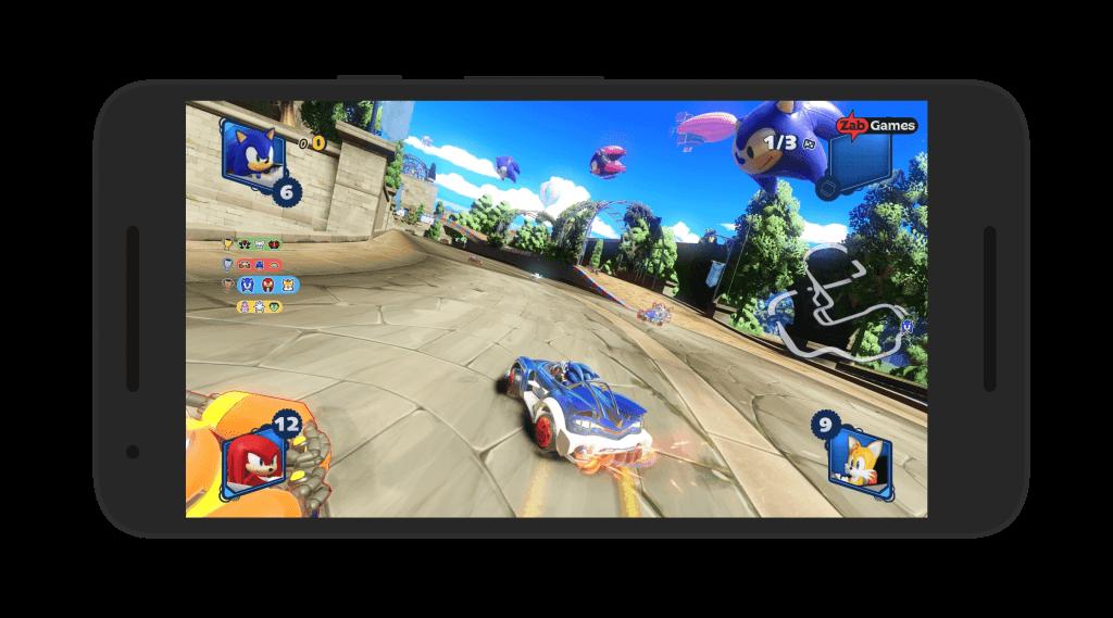 Team Sonic Racing Android Screenshot