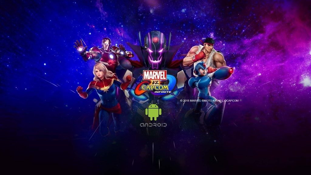 Marvel vs. Capcom: Infinite Android Cover