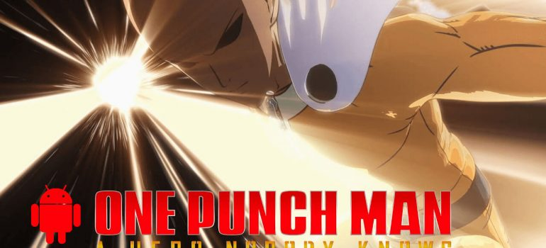 One Punch Man A Hero Nobody Knows Android Cover
