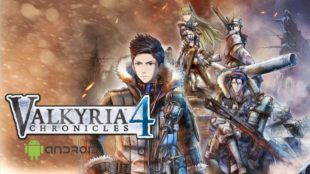Valkyria Chronicles 4 Android Cover