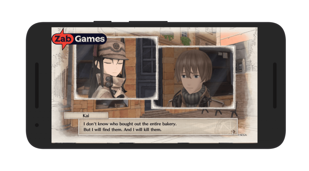Valkyria Chronicles 4 Android Screenshot